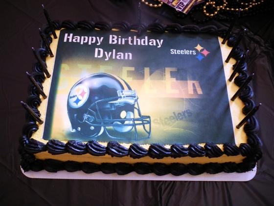 Community Dylan39s Steelers Birthday Cake