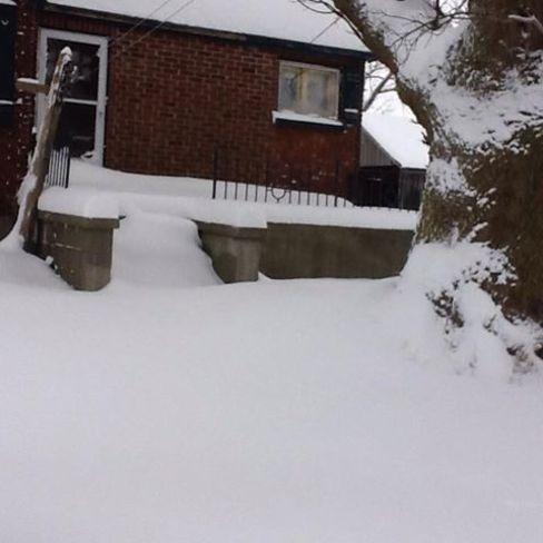 Lots of Snow Zurich, Ontario Canada