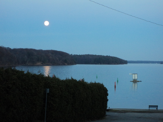 The moon on the water Carbonear, Newfoundland and Labrador Canada