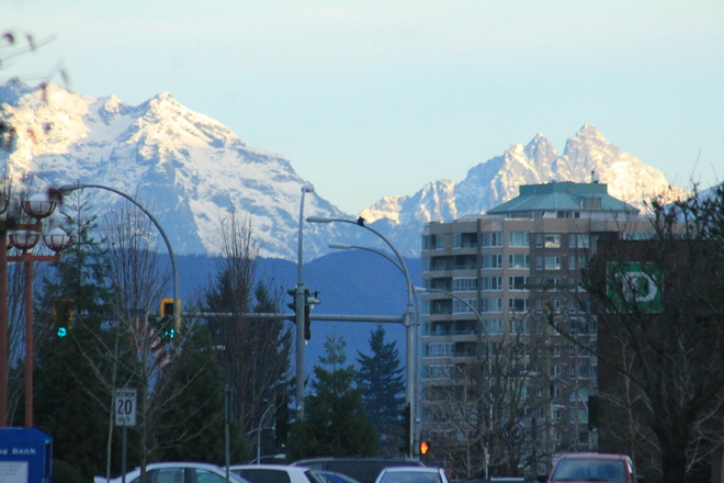 the mountains Abbotsford, British Columbia Canada