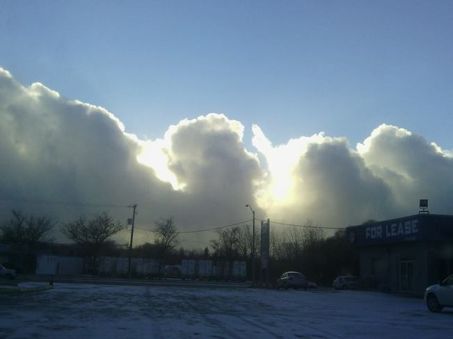 Wall of Cloud Kitchener, Ontario Canada