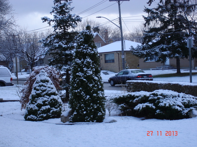 Advent of White Christmas Mississauga, Ontario Canada