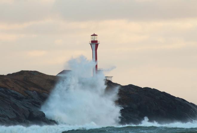 Wild Water on Cape Forchu Yarmouth, Nova Scotia Canada