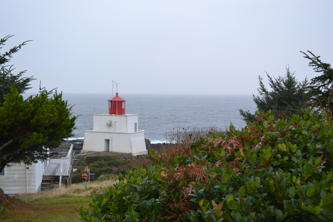 The Light's on but no one's Home Ucluelet, British Columbia Canada