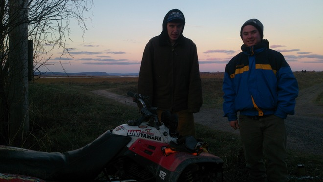 All ATV in November...Hantsport to Wolfville Wolfville, Nova Scotia Canada