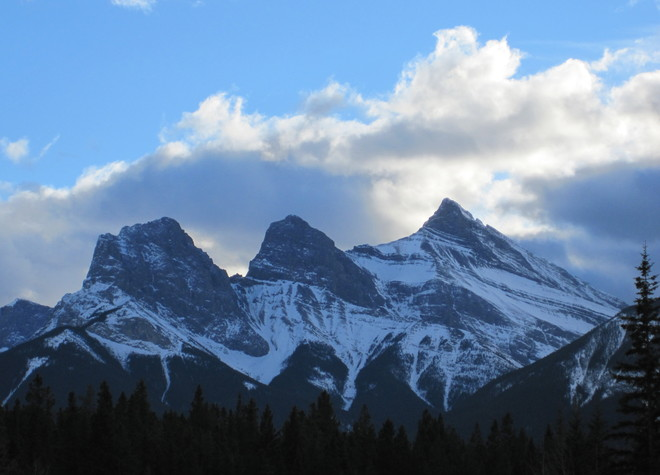 Three Sisters Canmore, Alberta Canada