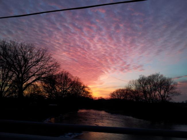 Beautiful Sunset Cambridge, Ontario Canada