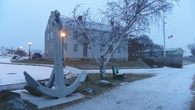 Anchor by the Codiac River Moncton, New Brunswick Canada