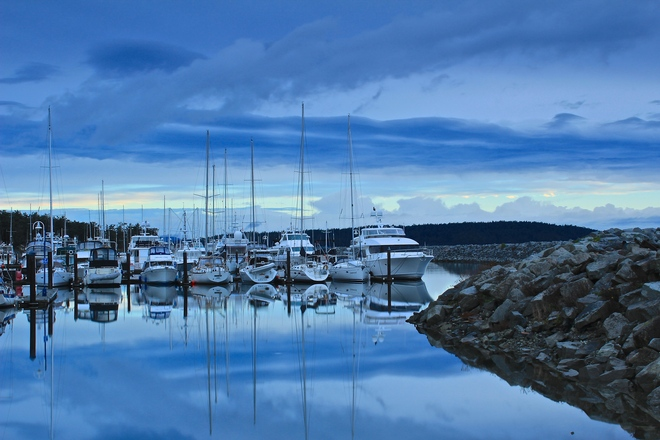 double vision Sidney, British Columbia Canada