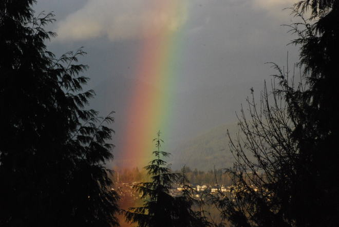 Rainbow Surrey, British Columbia Canada