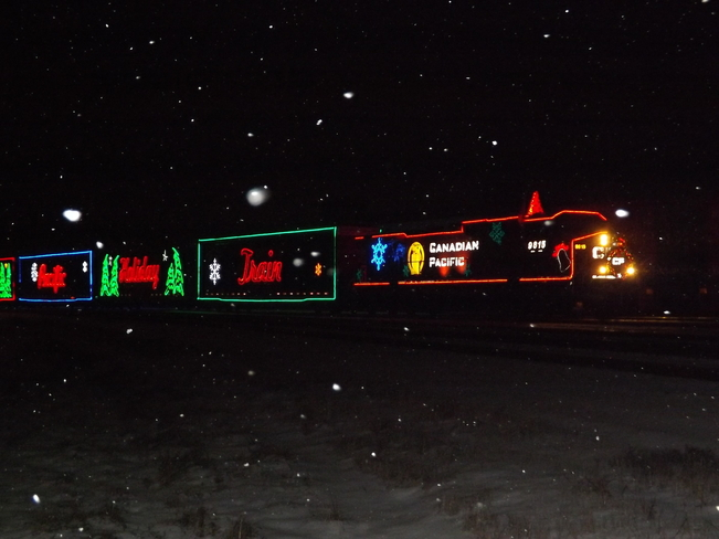 CANADIAN PACIFIC HOLIDAY TRAIN Thunder Bay, Ontario Canada