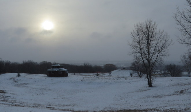 Morning Hilltop View Brandon, Manitoba Canada