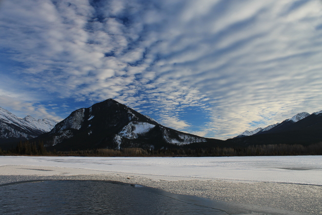 Chinook Clouds Canmore, Alberta Canada