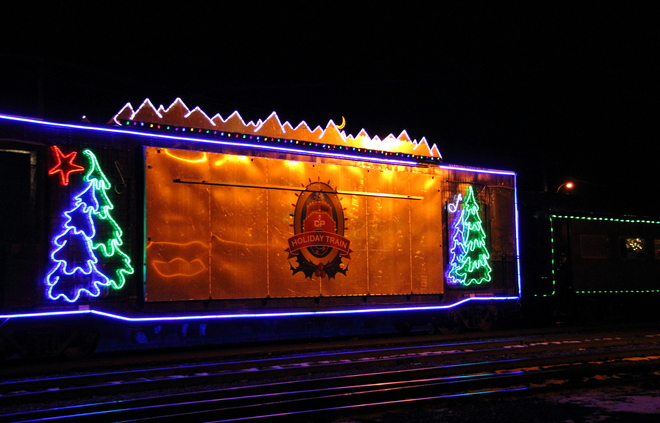 The Christmas Train Woodstock, Ontario Canada