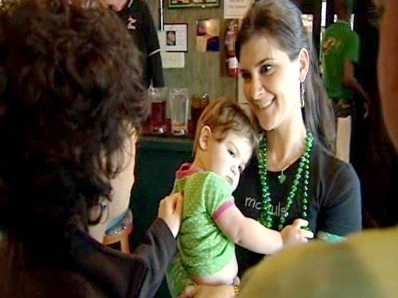 Celebrating At McCoul's In Greensboro