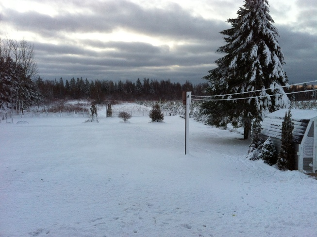 Winter has arrived Miscouche, Prince Edward Island Canada