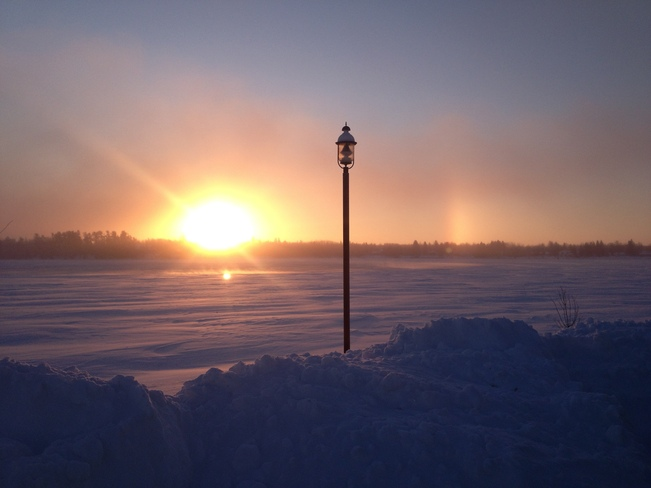 Beautiful Cold Weather Fort Frances, Ontario Canada