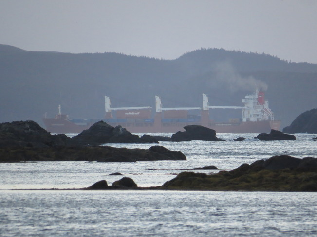 ship going to sea Marystown, Newfoundland and Labrador Canada