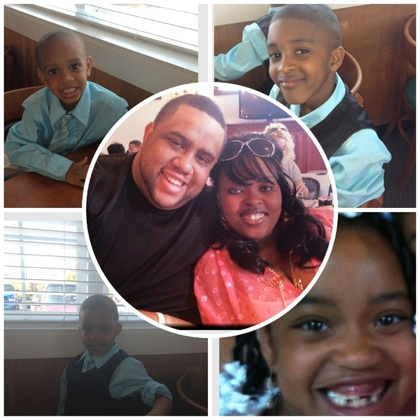 what i am thankful for! My beautiful family