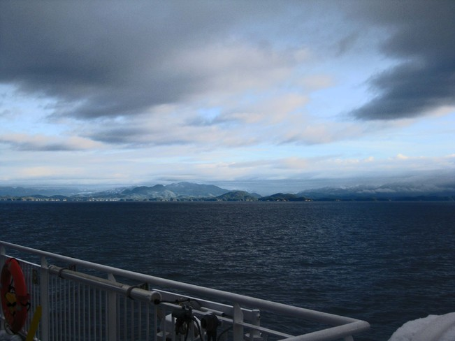 Snow on the Deck? Prince Rupert, British Columbia Canada