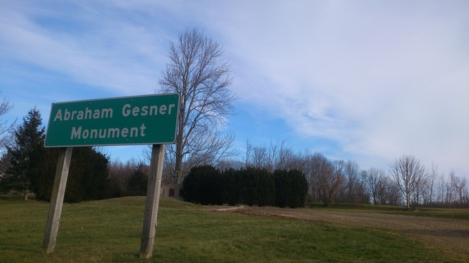 Thank You Abraham Gesner Kentville, Nova Scotia Canada