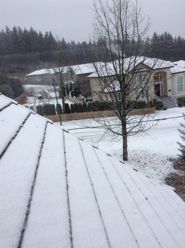 snow and a lot!! Port Coquitlam, British Columbia Canada