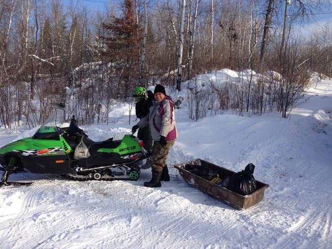 Cold, but ready Rennie, Manitoba Canada