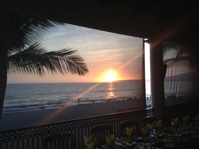 sun set Puerto Vallarta, Jalisco Mexico
