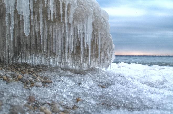 winter came early Sarnia, Ontario Canada