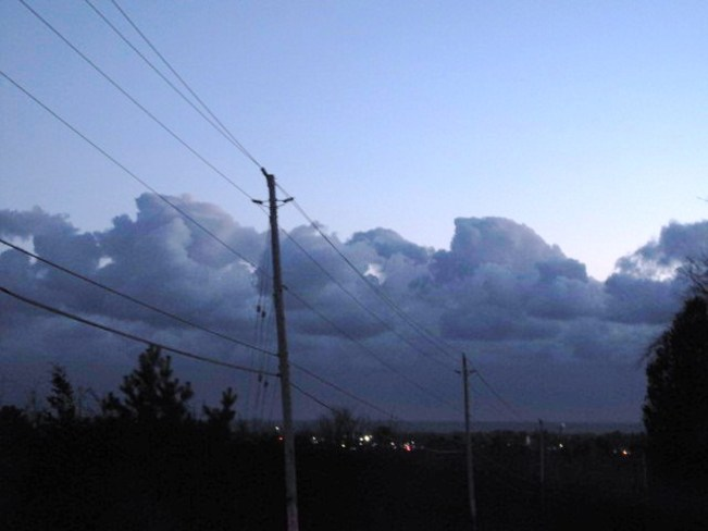 Bank of Clouds Cobourg, Ontario Canada