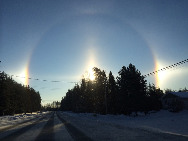 Morning Sun Dogs - Timmins, ON Timmins, Ontario Canada
