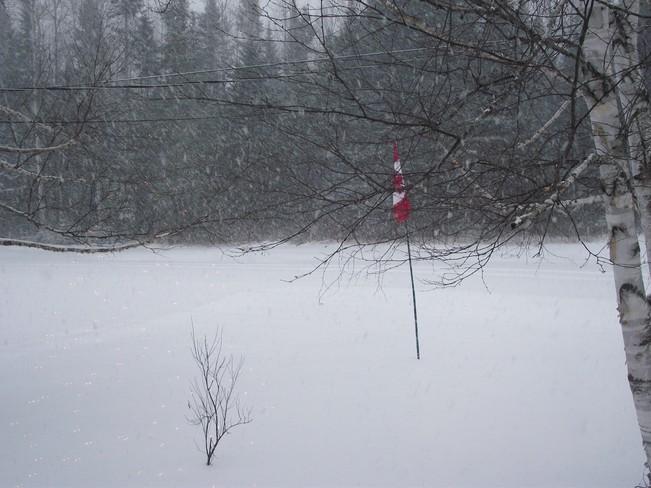 Here comes the storm Perth-Andover, New Brunswick Canada