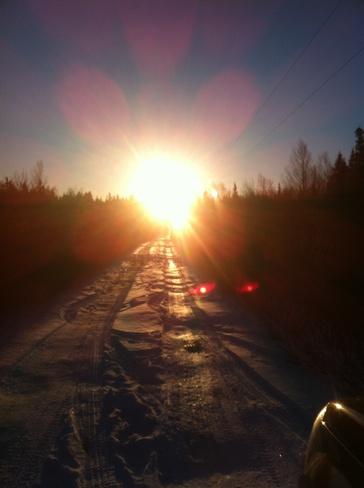 sunday morning walk Gander, Newfoundland and Labrador Canada
