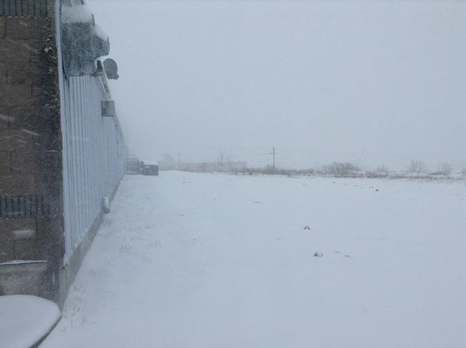 First Major Snowstorm Sydney, Nova Scotia Canada