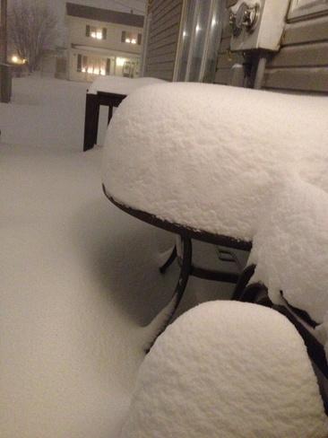 winter storm Stephenville, Newfoundland and Labrador Canada