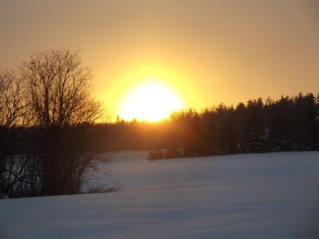 Awesome sunset Englehart, Ontario Canada