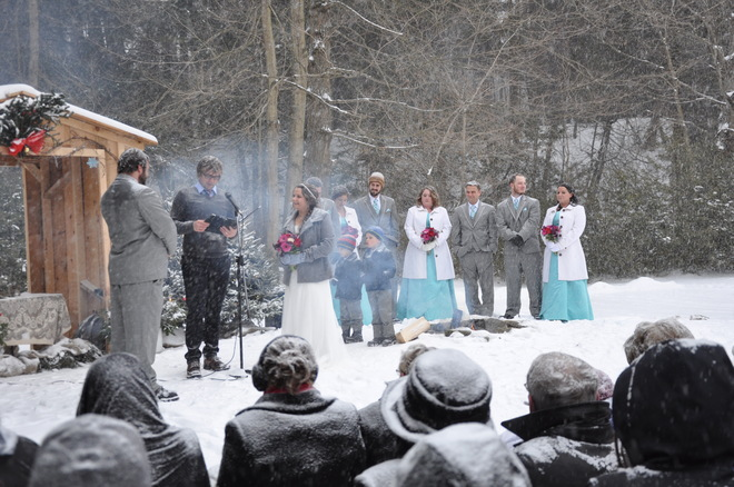 Its a nice day for a white wedding!!! Delhi, Ontario Canada