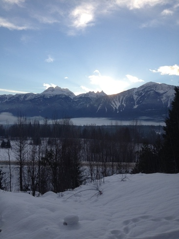 I can see Mt.Begbie Revelstoke, British Columbia Canada