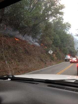 big sur fire