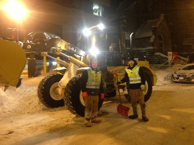 Ayles Team at Work Moncton, New Brunswick Canada