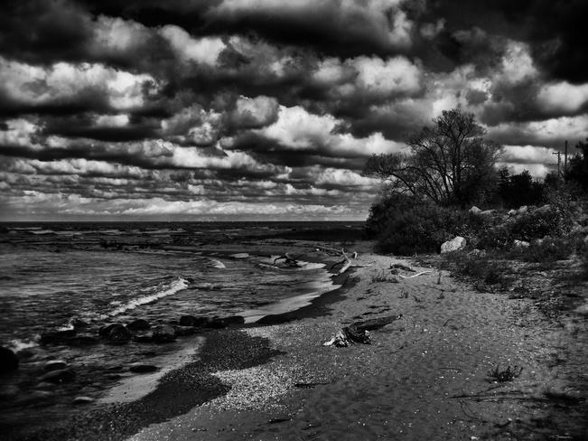 Ominous Sky Saugeen Shores, Ontario Canada