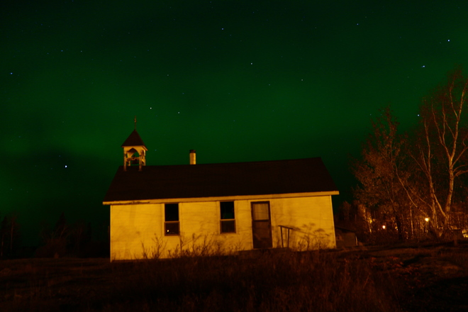 Old church The Pas, Manitoba Canada