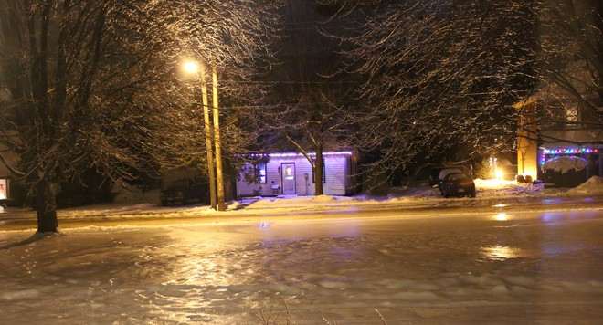 Ice Storm Grand Valley, Ontario Canada