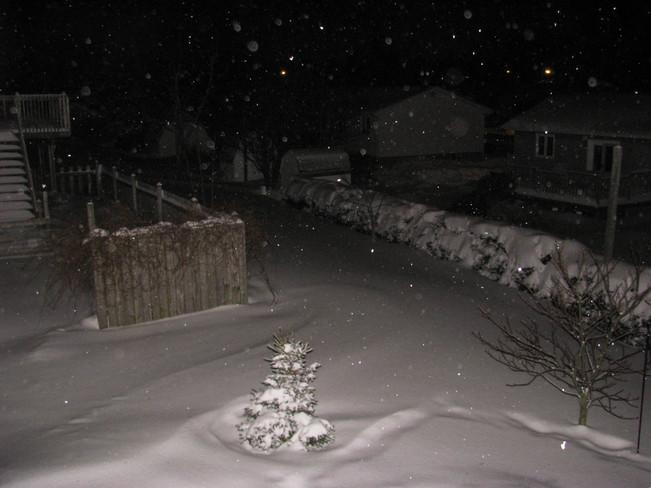 Predawn, Dec 21, 2013 Charlottetown, Prince Edward Island Canada