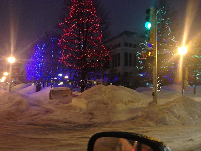 Holiday Winter Lighting Moncton, New Brunswick Canada