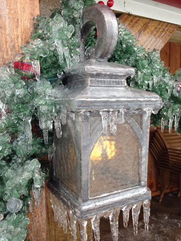 Christmas lamp St. Catharines, Ontario Canada