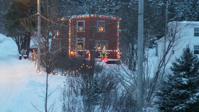 merry christmas Cupids, Newfoundland and Labrador Canada