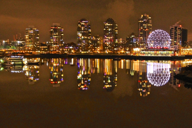 all is calm Vancouver, British Columbia Canada