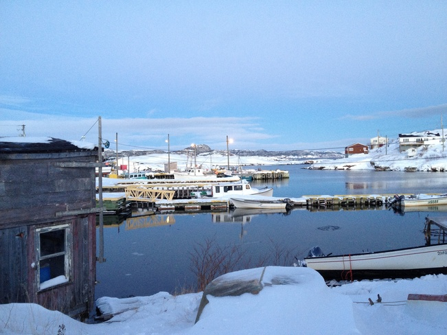 Christmas in the Harbour Burgeo, Newfoundland and Labrador Canada