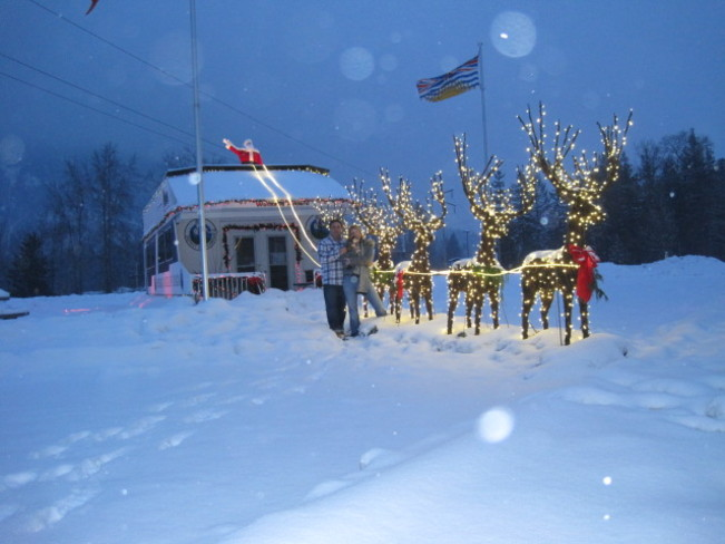 Christmas in Sicamous Sicamous, British Columbia Canada